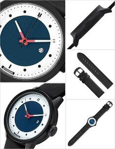 ハイパーグランド腕時計HYPERGRAND時計HYPERGRAND腕時計ハイパーグランド時計マーベリックシリーズクラシックレザーMAVERICKSERIESCLASSICLEATHERメンズ/レディース/ホワイトCW3H4BLUBLK[正規品/レザー革/ブラック/ブルー][送料無料][プレゼント/ギフト]