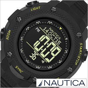 [ノーティカ腕時計NAUTICA時計NAUTICA腕時計ノーティカ時計メンズ/ブラックNAI19523G[正規品/腕時計/ウォッチ/人気/新作/ブランド/トレンド/シリコンベルト][送料無料]