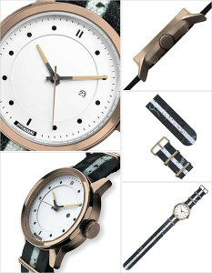 ハイパーグランド腕時計HYPERGRAND時計HYPERGRAND腕時計ハイパーグランド時計マーベリックシリーズナトーMAVERICKSERIESNATOメンズ/レディース/ホワイトNWM4RUNW[正規品/人気/トレンド/ナイロンベルト/ピンクゴールド][送料無料][プレゼント/ギフト]