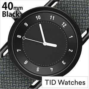 ティッドウォッチズ腕時計TIDWatches時計TIDWatches腕時計ティッドウォッチズ時計クヴァドラKvadratメンズ/レディース/男女兼用/ブラックTID01-BK40-PINE[No.1/正規品/おしゃれ/北欧/シンプル/革/レザーバンド/ブラック][送料無料][プレゼント/ギフト]