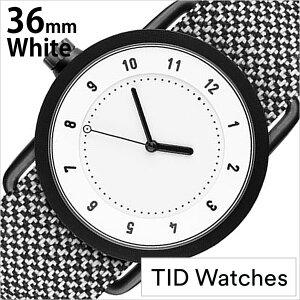ティッドウォッチズ腕時計TIDWatches時計TIDWatches腕時計ティッドウォッチズ時計クヴァドラKvadratメンズ/レディース/男女兼用/ホワイトTID01-WH36-GRANITE[No.1/正規品/おしゃれ/北欧/シンプル/革/レザーバンド/ホワイト][送料無料][プレゼント/ギフト]