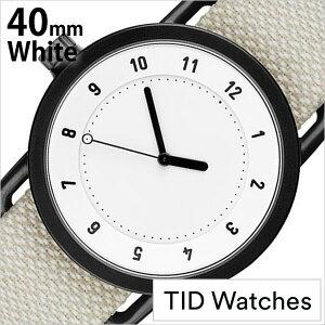 ティッドウォッチズ腕時計TIDWatches時計TIDWatches腕時計ティッドウォッチズ時計クヴァドラKvadratメンズ/レディース/男女兼用/ホワイトTID01-WH40-SAND[No.1/正規品/おしゃれ/北欧/シンプル/革/レザーバンド/ホワイト][送料無料][プレゼント/ギフト]