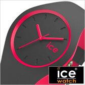アイスウォッチ腕時計 ICEWATCH 時計 ICE WATCH 腕時計 アイス ウォッチ 時計 アイス デュオ ユニセックス ICE duo unisex メンズ レディース グレー DUOAPKUS[正規品 人気 流行 トレンド ブランド 防水 シリコン DUO.APK.U.S.16 ピンク][送料無料][B][あす楽]