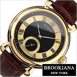 ブルッキアーナ腕時計BROOKIANA時計BROOKIANA腕時計ブルッキアーナ時計オリジンORIGINメンズ/ブラックBA2604-BKGPBR[革ベルト/機械式/自動巻/メカニカル/正規品/ブルッキーアーナ/ブランド/ブラウン/ゴールド][送料無料][夏/バーゲン][プレゼント/ギフト]