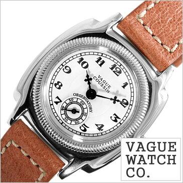 ヴァーグ ウォッチ コー腕時計 VAGUE WATCH Co.時計 VAGUE WATCH Co. 腕時計 ヴァーグ ウォッチ コー 時計 クッサン COUSSIN レディース ホワイト CO-S-001[正規品 人気 流行 ブランド 防水 レザー 革 ブラウン シルバー][送料無料][プレゼント ギフト][あす楽]