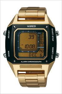 [6/9発売]セイコーワイアードデジボーグBEAMSプロデュース時計SEIKO腕時計WIREDメンズゴールドAGAM402[人気正規品ブランド防水デジタルワイヤードメタルブラック]