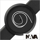 ナバデザイン時計NAVADESIGN腕時計ORAUNICA42mmメンズレディースブラックNVA020009[正規品北欧ミニマルシンプル個性的インテリア人気ブランドプレゼントギフト革レザーペアウォッチユニセックスデザイナーウォッチファッションコーデ][送料無料]