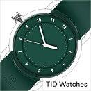 [7月初旬入荷]ティッドウォッチズ時計No.3限定モデル38mmメンズレディースTIDwatches腕時計グリーンTID03-38GR[正規品北欧ミニマル人気ペアウォッチナンバースリークリアTR90ラバーファッションユニセックスプレゼントギフトシンプルおしゃれ]