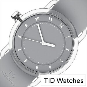 [7月初旬入荷]ティッドウォッチズ時計No.3限定モデル38mmメンズレディースTIDwatches腕時計グレーTID03-38GY[正規品北欧ミニマル人気ペアウォッチナンバースリークリアTR90ラバーファッションユニセックスプレゼントギフトシンプルおしゃれ]