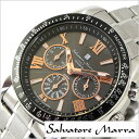 サルバトーレマーラ 腕時計 SalvatoreMarra 時計 メンズ ブラック SM15116-S...