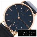 フルボデザイン 腕時計 Furbodesign 時計 メンズ ネイビー...