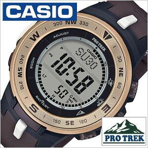 82725c014b カシオプロトレック腕時計CASIOPROTREK時計日本自然保護協会コラボレーションモデルメンズ液晶PRG- ...