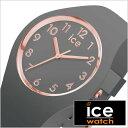 [あす楽]アイスウォッチ腕時計 アイスグラム グレー スモール ICE WATCH 腕時計 ICE gram color GREY small レディース グレー 015332 正規品 ペアウォッチ おしゃれ かわいい 人気 おすすめ シック スモーキー アースカラー グレー シリコン プレゼント ギフト 秋