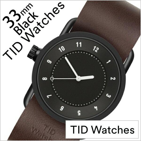 腕時計, レディース腕時計  No.1 33mm TID Watches TID01-BK33-W