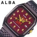セイコー スーパーマリオ 限定コラボモデル アルバ 時計 SEIKO ALBA Super Mario 腕時計 メンズ レディース レッド ACCK420 人気 ブランド キャラクター ドット ファミコン ゲームボーイ ドット絵 レトロゲーム 死にゲー レア ワインレッド プレゼント ギフト 冬 父の日