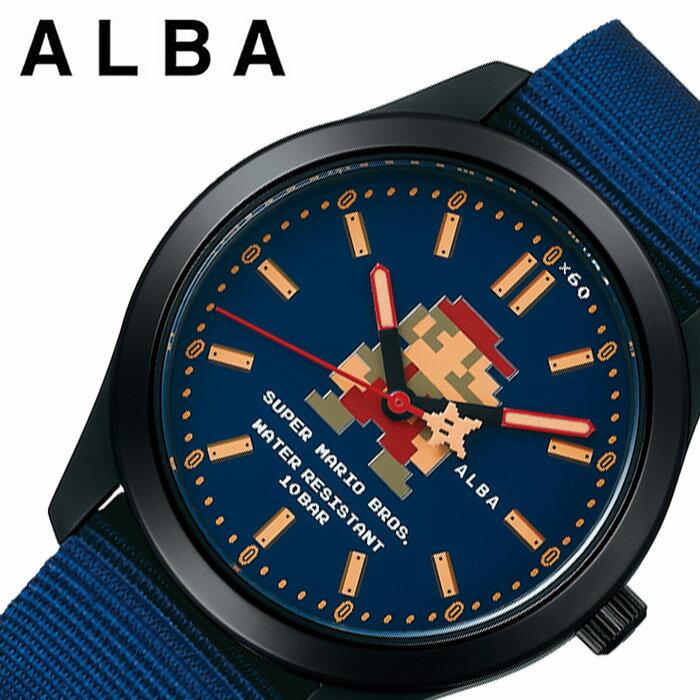 腕時計, 男女兼用腕時計  SEIKO ALBA Super Mario ACCK422