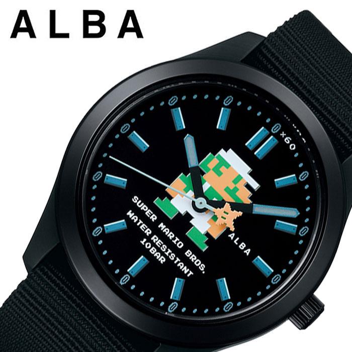 腕時計, 男女兼用腕時計  SEIKO ALBA Super Mario ACCK423