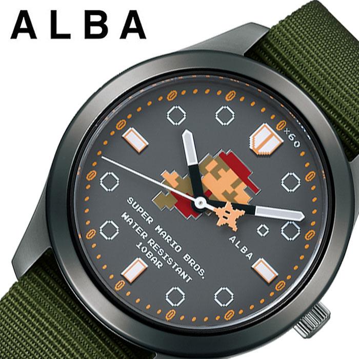 腕時計, 男女兼用腕時計  SEIKO ALBA Super Mario ACCK424