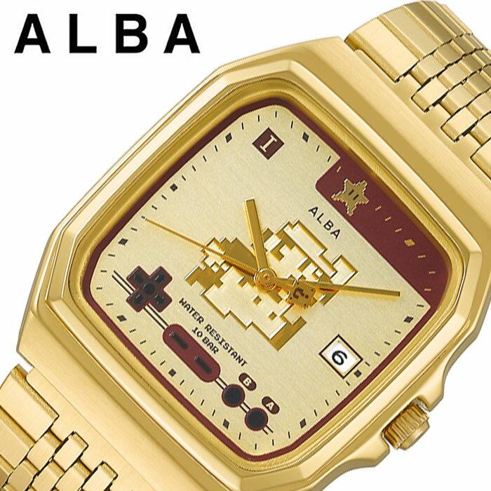 腕時計, 男女兼用腕時計  web SEIKO ALBA Super Mario ACCK711