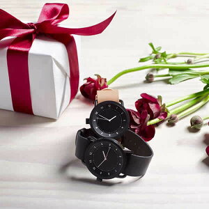 [あす楽]ティッドウォッチ腕時計TIDWatches時計TIDWatches腕時計ティッドTIDウォッチ時計TID腕時計メンズ/レディース/ユニセックス/男女兼用/ブラックTID01-BK-T[革ベルト/おしゃれ/防水/北欧/アナログ/ブラウン][送料無料][新社会人][プレゼント/ギフト]