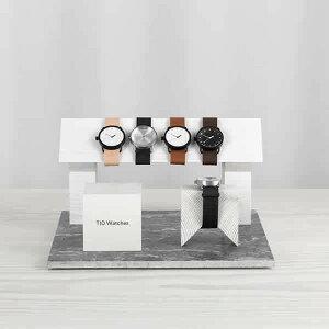 ティッドウォッチ腕時計TIDWatches時計TIDWatches腕時計ティッドTIDウォッチ時計TID腕時計メンズレディースユニセックス男女兼用ブラックTID01-BK-T[革ベルトおしゃれ防水北欧アナログブラウン][送料無料][プレゼントギフト][B][ホワイトデー]