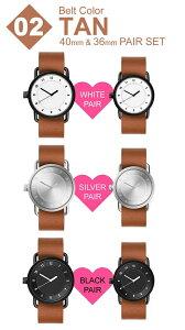 ティッドウォッチ腕時計TIDWatches時計TIDWatches腕時計ティッドウォッチ時計TIDメンズ/レディース/ユニセックス/男女兼用/ホワイトTID01-WH-N[革ベルト/おしゃれ/防水/替え/北欧/アナログ/ベージュ/ブラウン/ブラック]