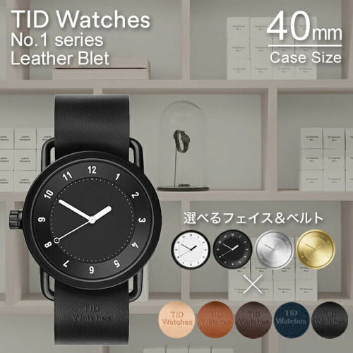 ティッドウォッチズ 腕時計 40mm TIDWatches 時計 TID Watches 腕時計 ティッド TIDウォッチ 時計 ...