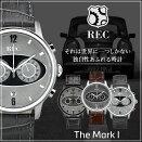 レック腕時計REC時計REC腕時計レック時計マークワンTheMarkIMiniミニメンズ[アナログ/革/レザーベルト/シンプル/車体/一点物][送料無料][あす楽]