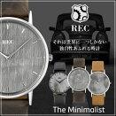 レック腕時計REC時計REC腕時計レック時計ミニマリストTheMinimalistミニMiniメンズ[アナログ/革/レザーベルト/シンプル/車体/一点物][送料無料][あす楽]