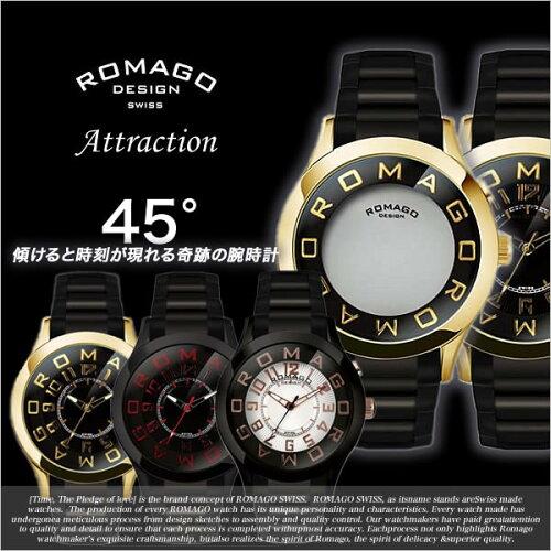 ロマゴデザイン腕時計[ロマゴ時計](ROMAGO DESIGN 腕時計 ロマゴ デザイン 時計) メンズ レディー...