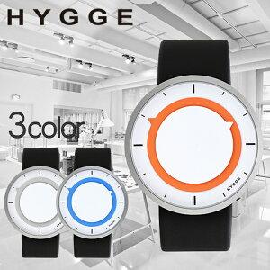 ヒュッゲ時計HYGGE腕時計3012メンズレディースホワイトグレーHGE020023[正規品北欧ミニマルシンプル個性的インテリア人気ブランドプレゼントギフトプラスチックペアウォッチユニセックスデザイナーウォッチファッションコーデブラック][送料無料]