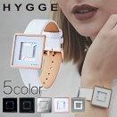 ヒュッゲ時計HYGGE腕時計2089メンズレディースブルーHGE020082[正規品北欧ミニマルシンプル個性的インテリア人気ブランドプレゼントギフト革レザーペアウォッチユニセックスデザイナーウォッチファッションコーデブラック][送料無料]