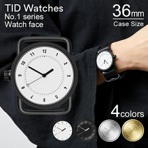 ティッドウォッチズ 時計 本体 36mm ホワイト ブラック シルバー ゴールド No.1 TID Watches 腕時...