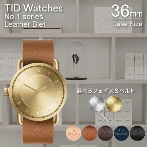 ティッドウォッチズ 時計 シルバー ゴールド No.1 TIDWatches時計 TID Watches 腕時計 ティッド ウ...