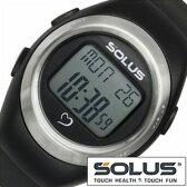 ソーラス腕時計[SOLUS時計] (SOLUS 腕時計 ソーラス 時計)心拍時計(ハートレートモニター) メンズ レディース 男女兼用時計 01-800-201[正規品 スポーツ ダイエット エクササイズ][送料無料][プレゼント ギフト][ホワイトデー][あす楽]