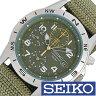 セイコー腕時計 SEIKO時計 SEIKO 腕時計 セイコー 時計 ミリタリー・クロノグラフ メンズ時計 SND377R[プレゼント ギフト][あす楽]