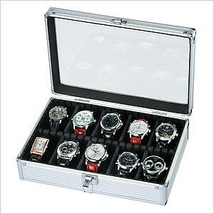 「腕時計の収納方法でお困りの方へ♪」10本収納コレクションケース[コレクションボックス] 時計収...
