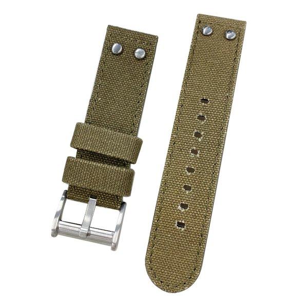 腕時計用アクセサリー, 腕時計用ベルト・バンド HAMILTON Khaki NATO H706 22mm