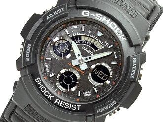 CASIOカシオ Gショック M-SPEC アナログ×デジタルWrist watch Black 海外Model AW-591MS-1A