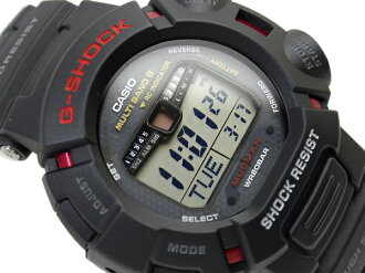 + Madman reimport Casio G shock digital watch tough solar and multi-band 6 with black urethane belt GW-9010-1