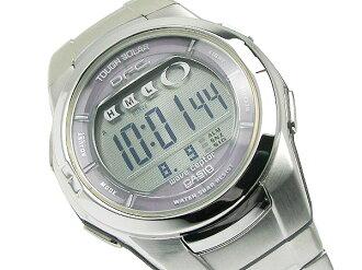 Casio lady's domestic model electric wave solar watch DFC-200DJ-8J