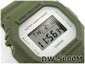 【ポイント2倍!!+全商品送料無料!!】G-SHOCK Gショック ジーショック 5600系 カシオ CASIO ミリタリー・シリーズ デジタル 腕時計 カーキグリーン DW-5600M-3CR DW-5600M-3