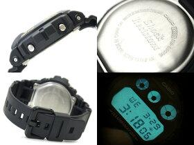 【CASIOG-SHOCK】カシオ逆輸入Gショックデジタル腕時計ブラックウレタンベルトDW-6900-1
