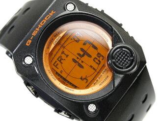 + Casio G shock advanced design overseas model C3 digital watch Orange LCD dial lame style black urethane belt g-8000B-4