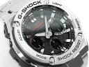 [予約商品 8/19日前後入荷予定]カシオ Gショック Gスチール CASIO G-SHOCK G-STEEL ソーラー アナデジ メンズ 腕時計 ブラック シルバー GST-S110D-1ACR GST-S110D-1A