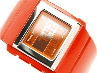 Urethane belt BG-2000-4 which there is Casio baby G reimportation foreign countries model digital watch CASKET SLIM series deep orange luster in