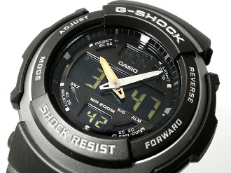 CASIOカシオ Gショック アナログ×デジタルWrist watch Black×Black UrethaneBelt 海外Model G-314RL-1A