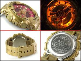 G-SHOCKGショックG-SHOCKGショックG-SHOCKGショックジーショックカシオCASIO限定モデルSSeriesSシリーズ逆輸入海外モデルアナデジ腕時計ライトゴールドピンクGMA-S110GD-4A1【あす楽】