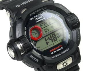 Japan yet to be released overseas model Casio G shock riseman digital solar Watch Black G-9200-1