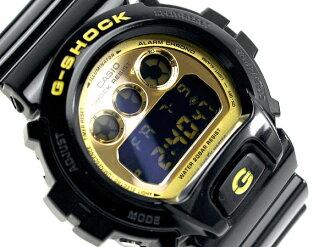 Casio reimport model G-shock crazy colors black x Gold enamel urethane belt DW-6900CB-1